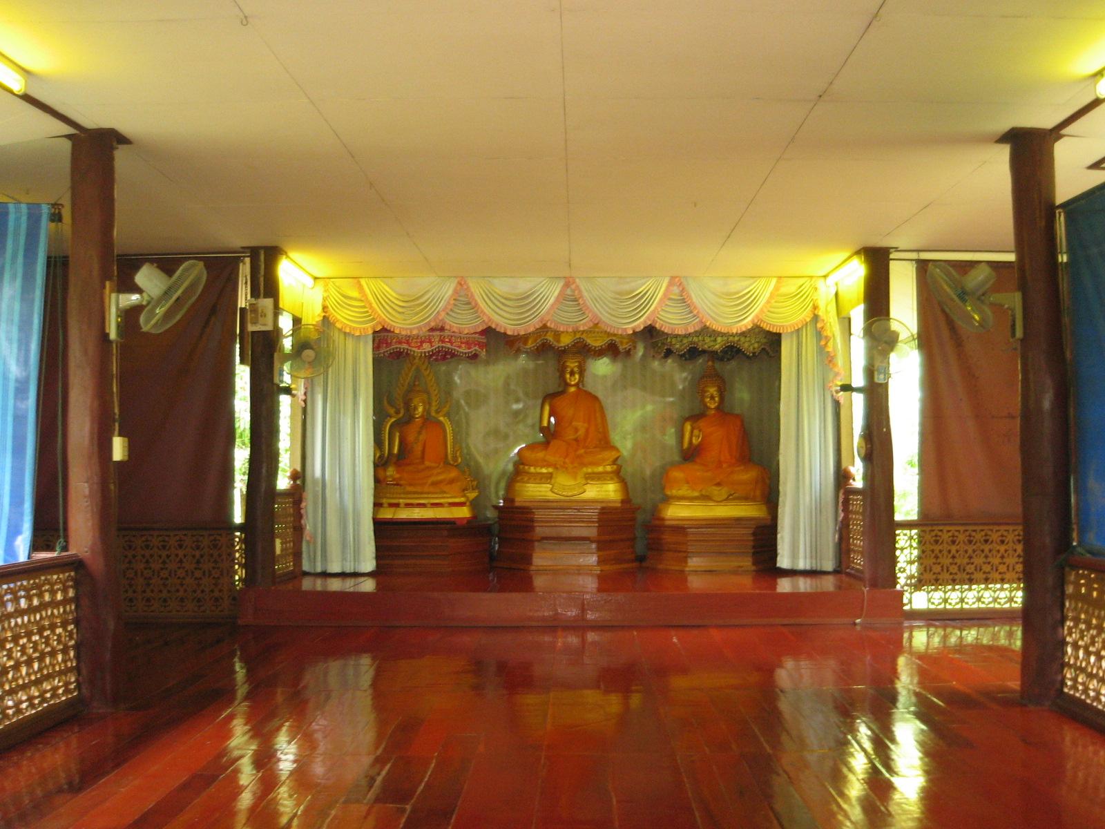 Inside the Dhammasala Hall
