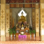 Buddha in the Chanting Hall