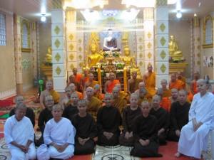 Group photo Samnak 10 year anniversary 2010