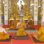 Dhamma Sharing by Novices