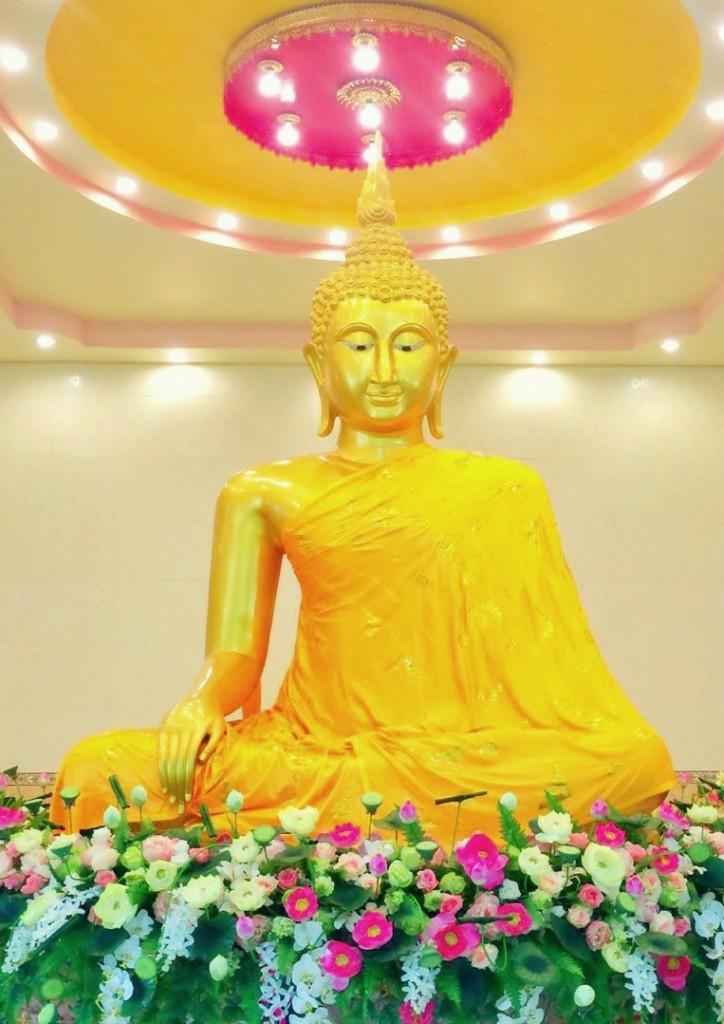 BuddhaStatue-SamadhidhammaramCentre