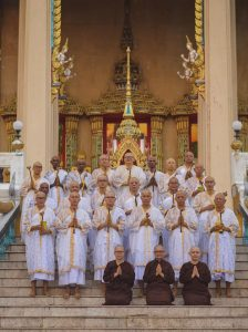 Group photo of Wesak 2019 participants