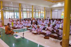 Chanting 5 precepts